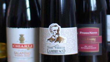 Il Lambrusco: il vino rosso frizzante dal gusto equilibrato