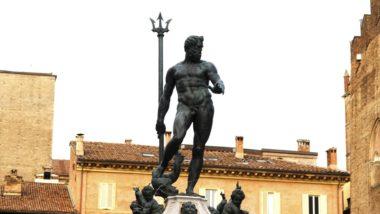 """La fontana del Nettuno, il """"Zigant"""" del Giambologna"""